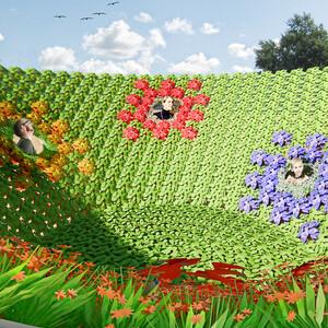 Kunstraum im Garten