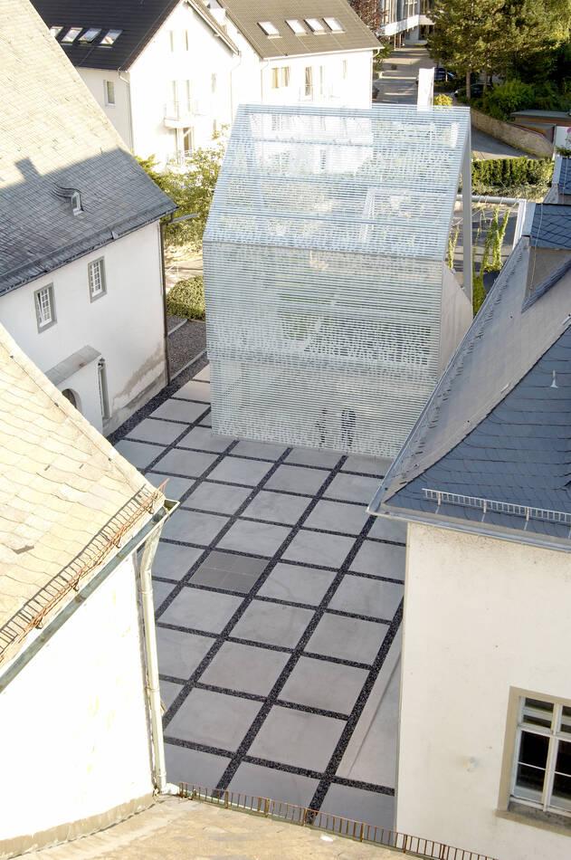 Vogelperspektive Klosterhof