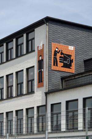 Piktogramm eines Arbeiters von Gerd Arntz